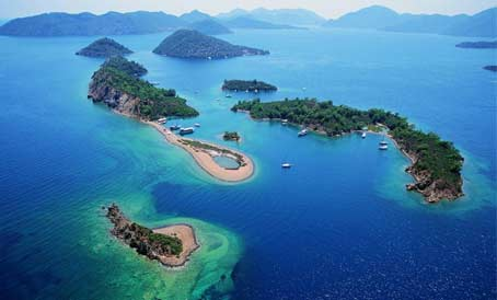 Cruise Göcek  with A Yacht Charter Marmaris